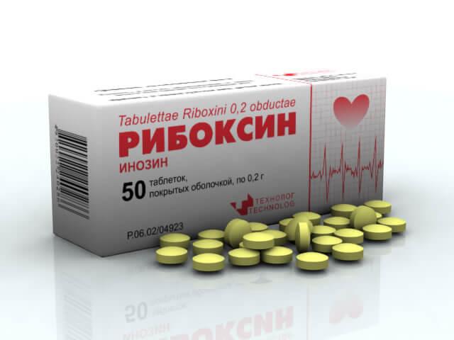 Витамины для сердца Рибоксин: инструкция по применению