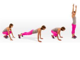 Бурпи – одно из самых эффективных упражнений
