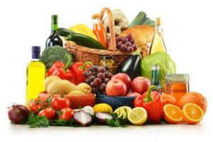 Набор продуктов полезных для сердца и сосудов