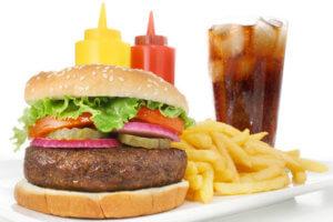 Вредные продукты – путь к инфаркту!