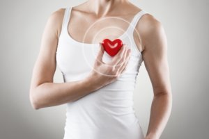Нарушение кровотока в коронарных артериях - одна их причин инфаркта миокарда