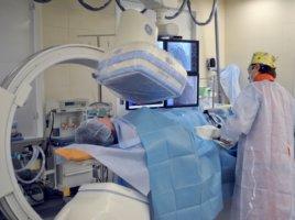 В основе ангиографии лежат рентгеновские лучи