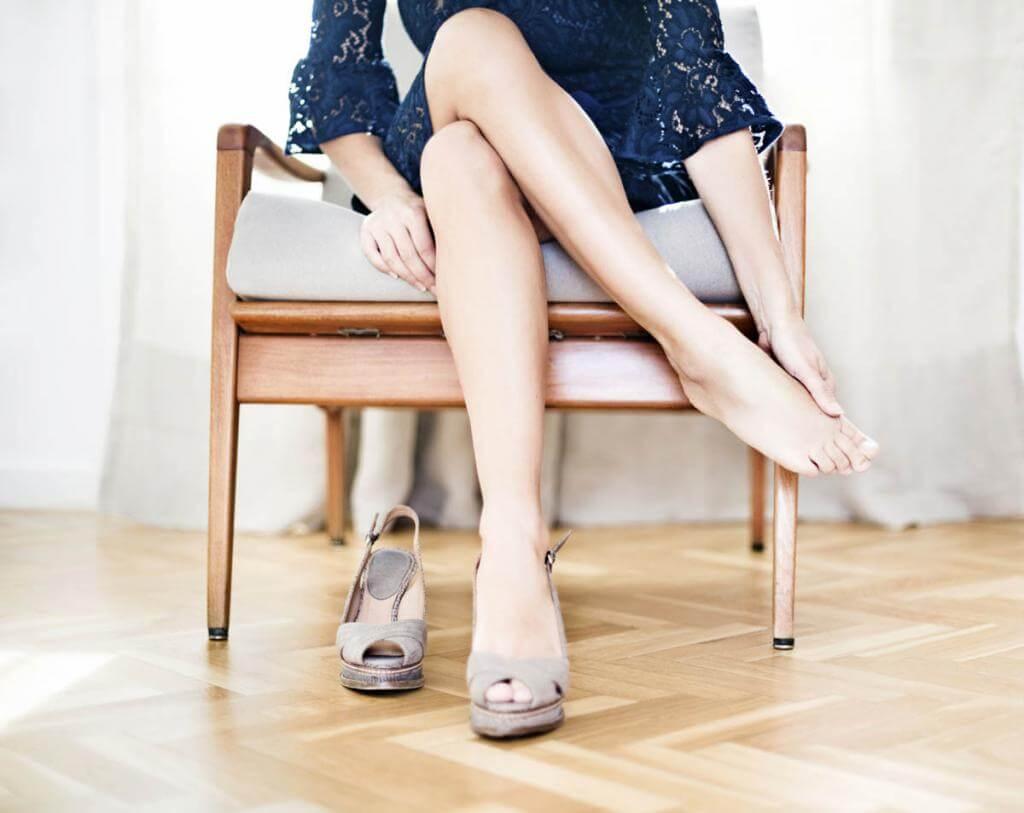 Основные причины отечности ног у женщин