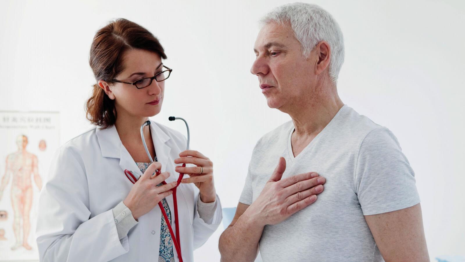 Основные причины давящей боли в сердце