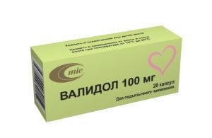 Валидол – препарат, который обладает седативным и вазодилатирующим действием