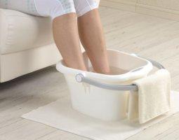 Ванночка для ног – эффективная процедура против отека