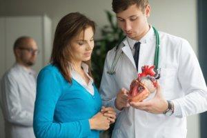 Различают очаговую и диффузную форму кардиосклероза
