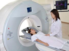МРТ позволяет определить место локализации и размеры аневризмы