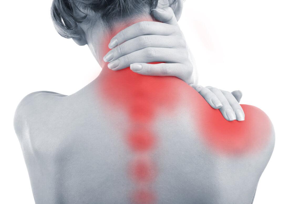 Боль в шее позвоночнике и оба плеча