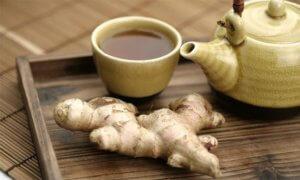 Чай с имбирем поможет повысить пониженное давление