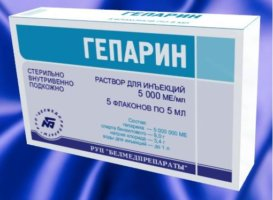 Основным антикоагулянтным препаратом является Гепарин