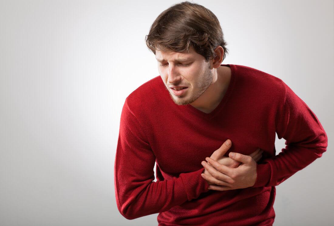 Что делать если колит сердце при вдохе