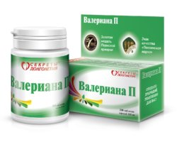 Валериана П – препарат, который обладает успокаивающими свойствами