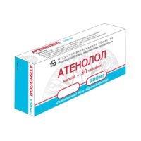 Таблетки Атенолол: инструкция по применению и механизм действия вещества