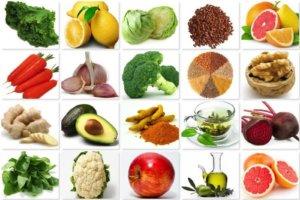 Набор продуктов, снижающих уровень холестерина в крови