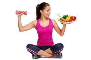 Придерживаемся правильно питания и активного образа жизни!