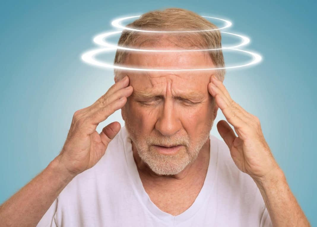 После удара головой появилось головокружение