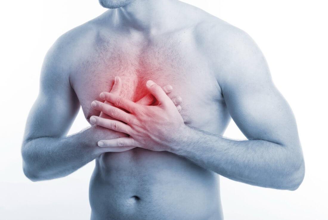 Что предпринимать если боль в грудной клетке по середине и тяжело дышать