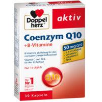 Коэнзим Q10 – это витаминоподобный кофермент с антиоксидантным действием