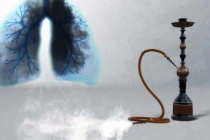 Курение кальяна оказывает негативное и разрушающее влияние на легкие