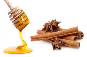 Мед с корицей можно комбинировать с другими продуктами, которые снижают холестерин