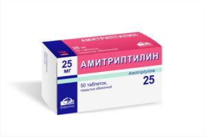 Амитриптилин обладает выраженным седативным и тимоаналептическим действием