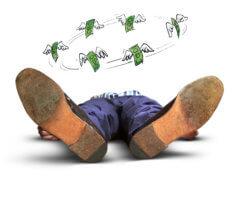 Обморок – это форма острой недостаточности: причины и план спасения
