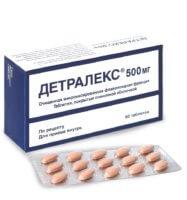 Препарат оказывает венотоническое и ангиопротекторное действие