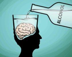 Алкогольная энцефалопатия возникает вследствие регулярного употребления алкогольных напитков