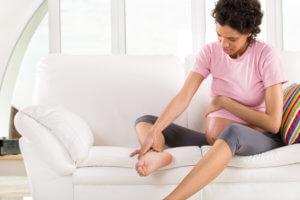 Причины отечности ног при беременности