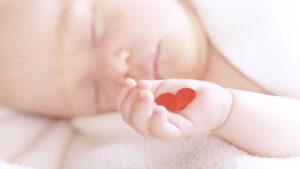 Сердце в детской ладошке
