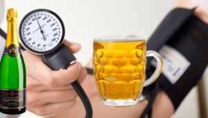 Алкоголь при гипертонии