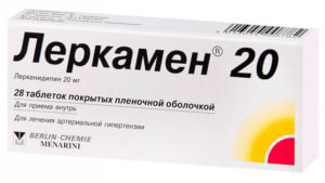 Таблетки Леркамен